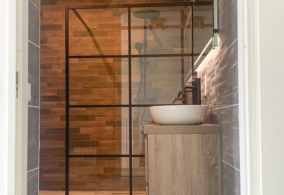 Badkamer en toiletruimte dhr. Nijsten, Utrecht